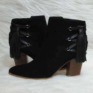 Marc Fisher *9.5* Kadey Corset Ankle Boots